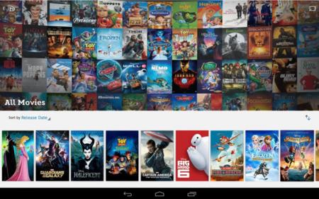 Ahora puede ver películas de Disney en los dispositivos Android