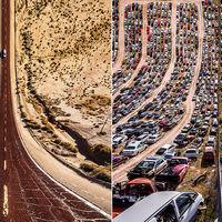 Cuando el horizonte se curva y se pliega sobre sí mismo: las alucinantes fotografías de Aydın Büyüktaş