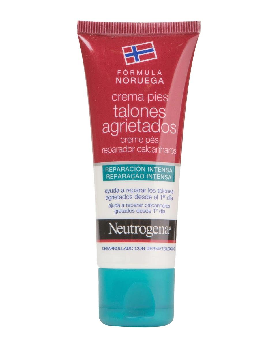 Crema de pies para talones agrietados de Neutrogena