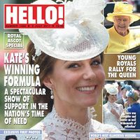 Ascot. Kate. Real British