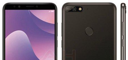 El Huawei Y7 2018 al descubierto: cambios por fuera pero no por dentro para la gama más básica de Huawei