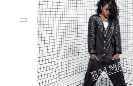 Rihanna verano 2014 Balmain