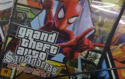 'GTA Tarzan', 'GTA Spiderman' y 'GTA Batman': lo último en piratería