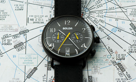 Línea de relojes de pulsera BOLDR Journey