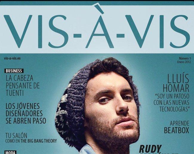 Portada revista Vis á Vis