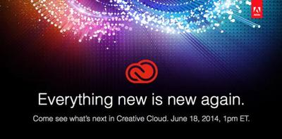 El próximo 18 de junio Adobe desvelará hacia dónde va Creative Cloud