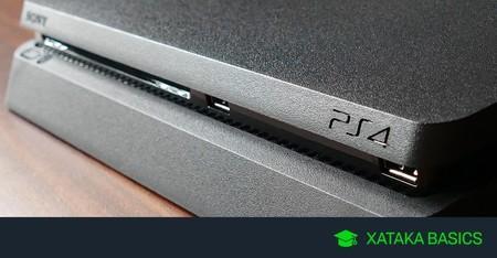Cómo hacer copias de seguridad de PS4 en una unidad USB