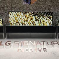 La televisión enrollable de LG ya se vende en Corea por casi dos millones de pesos y no queremos ni imaginar cuánto costaría en México