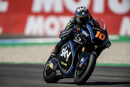 Luca Marini Gp Holanda Moto2 2018