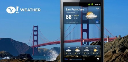 Las mejores aplicaciones para conocer el tiempo: Yahoo! Tiempo, a fondo