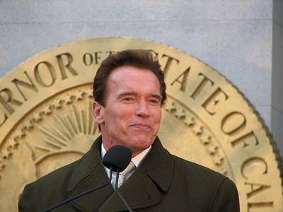 Arnold Schwarzenegger en su rol más ingrato
