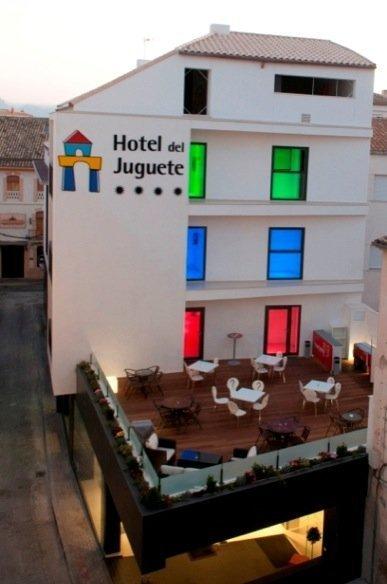 Hotel del Juguete fachada