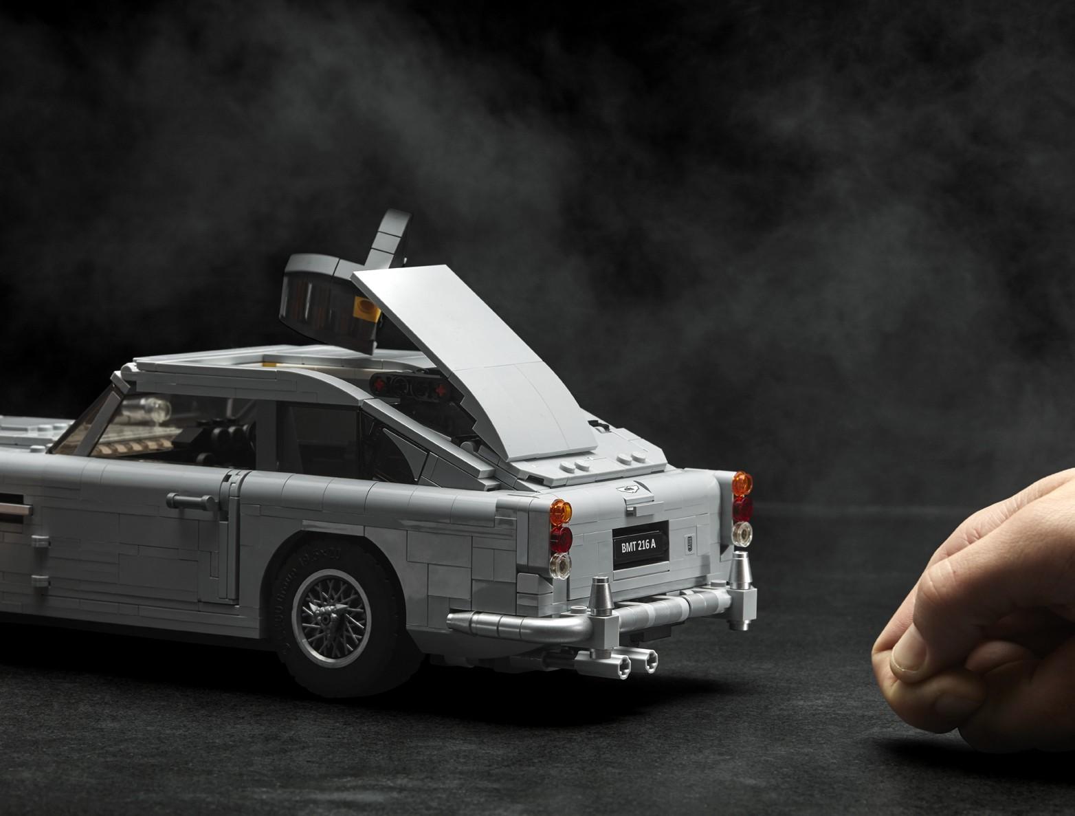 Foto de Aston Martin DB5 007 de LEGO (3/39)