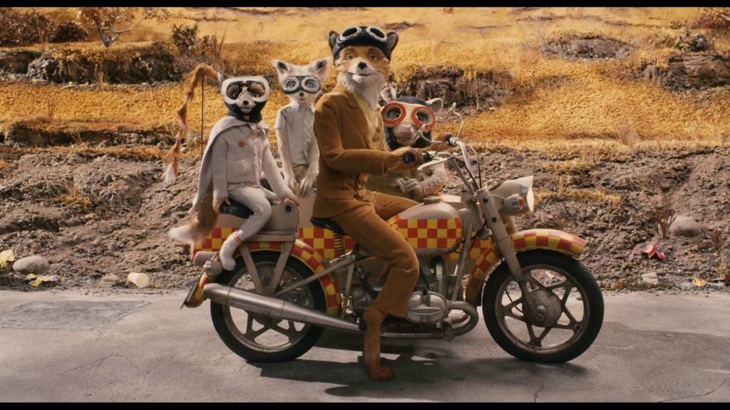 Fantastic Mr Fox Motorcycle
