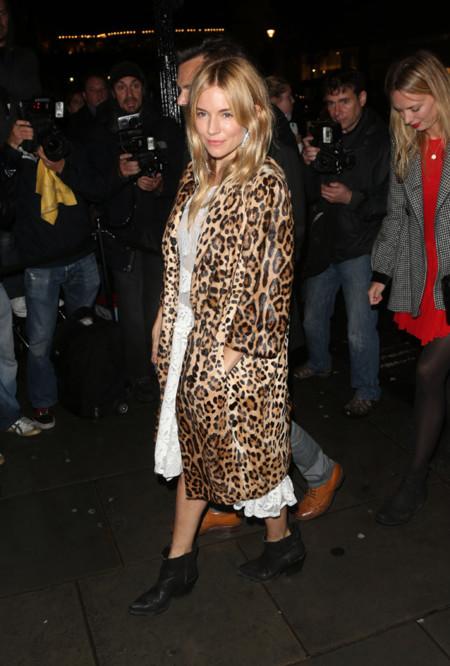 Leopardo Sienna Londres Semana Moda