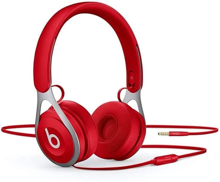Beats EP - Auriculares supraaurales con cable - Sin batería para escuchar tanto como quieras, controles y micrófono integrados