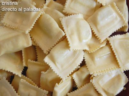 Pasta con salsa de setas