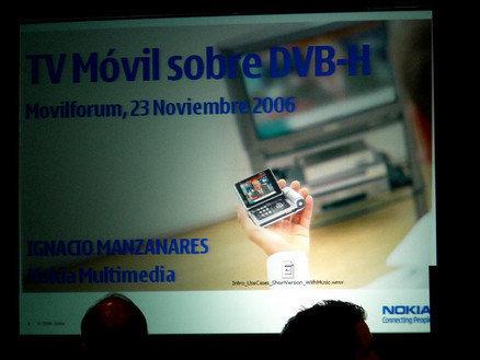Cobertura Móvil Forum: TV móvil sobre DVB-H