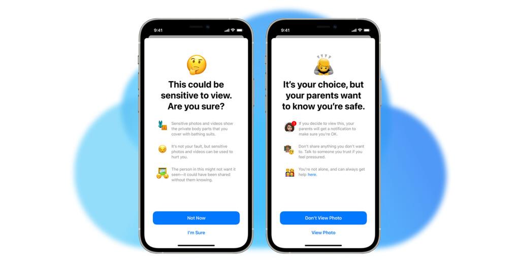 Cómo funcionan las nuevas medidas de escaneo de contenido contra abusos a menores en iCloud y Mensajes