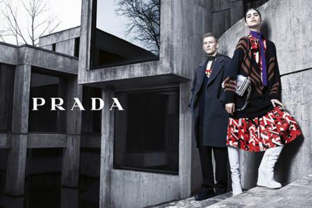 El futurismo retro de Prada llega a su campaña Otoño-Invierno 2014/2015
