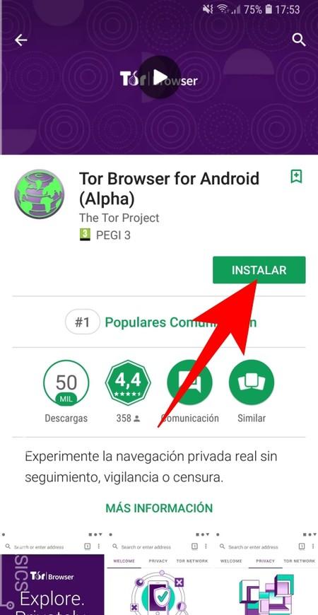 Instalar Tor Browser