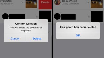 Instagram Direct permite eliminar los mensajes del móvil del receptor