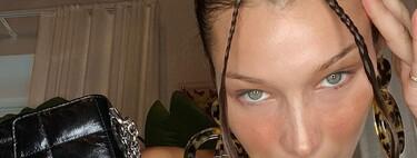Bella Hadid estrena el año dándole un nuevo giro de color a su pelo