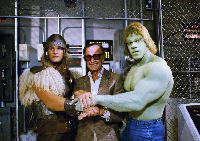El Regreso de la Masa - Thor, Stan Lee y Hulk