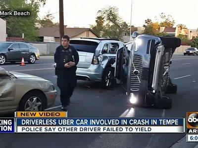 No ha sido su culpa, pero tras otro incidente Uber también retira sus coches autónomos de Arizona