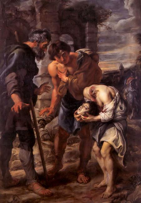 El Milagro de San justo, Rubens