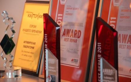 kaspersky premios oficinas moscú