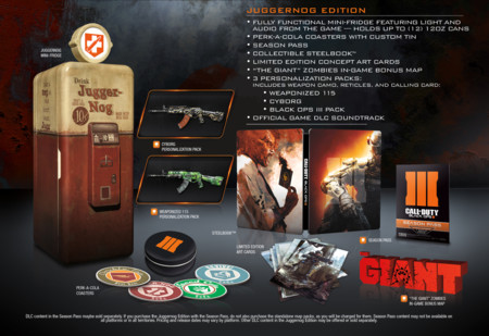 Black Ops 3 Edicion Juggernog