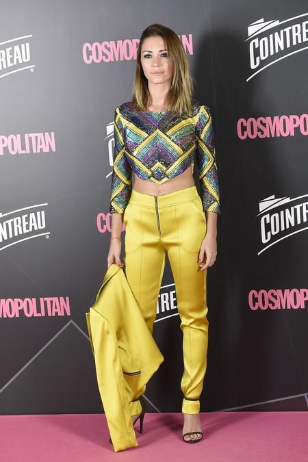 premios cosmopolitan 2017 alfombra roja look estilismo outfit Sara Gomez