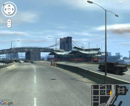 Explora Liberty City de 'GTA IV' al estilo Google Maps