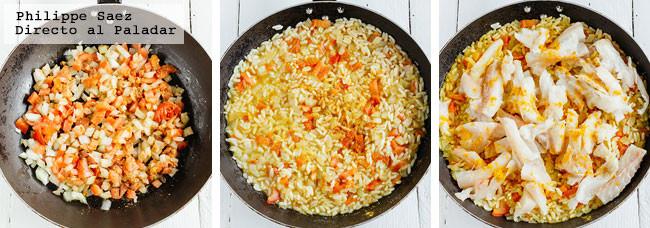 Arroz Pescado Curry Receta