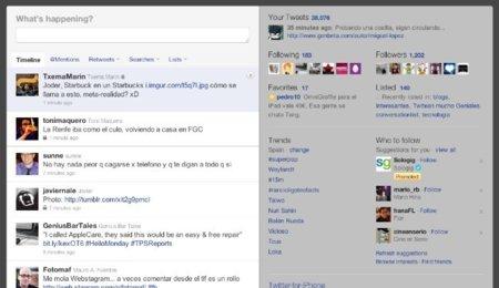 Tres funcionalidades que necesita la web de Twitter para rivalizar con las aplicaciones nativas
