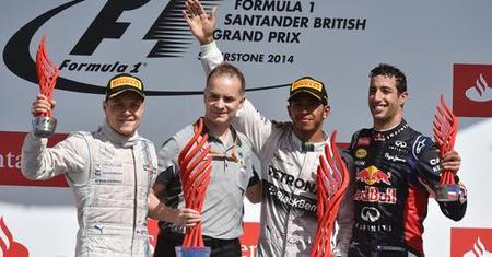 Gran Premio de Inglaterra 2014: ¡Carrerón!