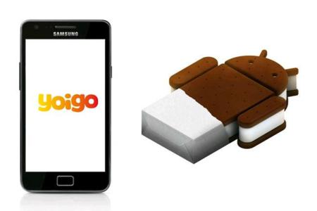 Yoigo actualiza su Galaxy SII a Ice Cream Sandwich