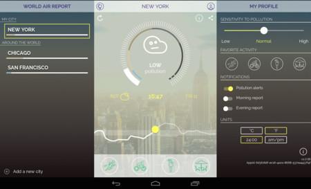 App Mapa Contaminacion Android