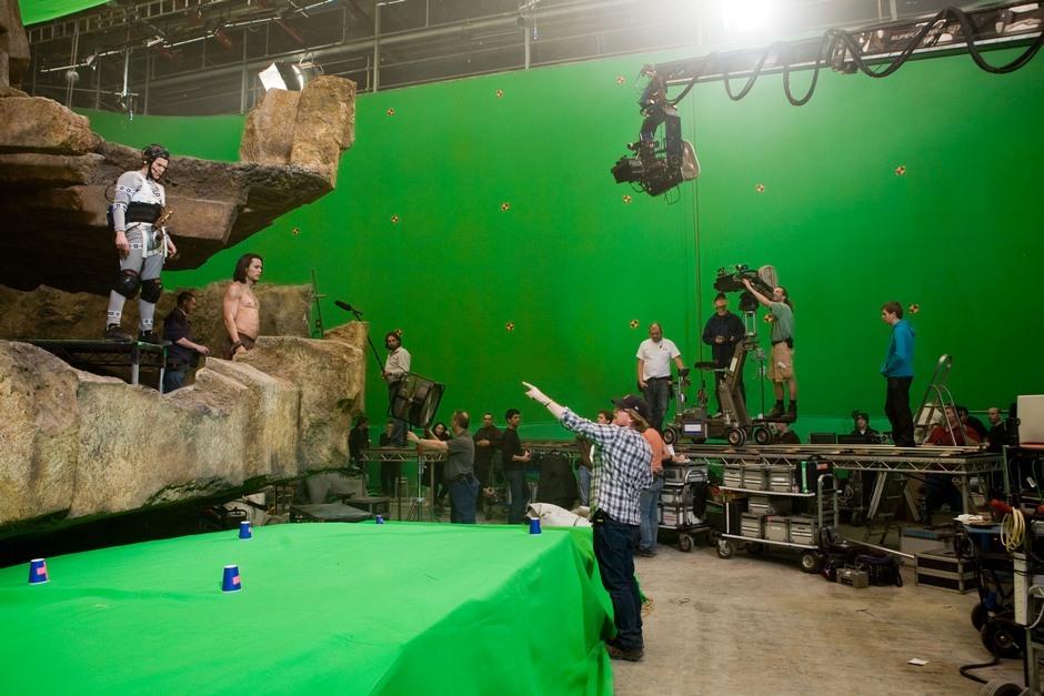 'John Carter', fotos del rodaje de la película