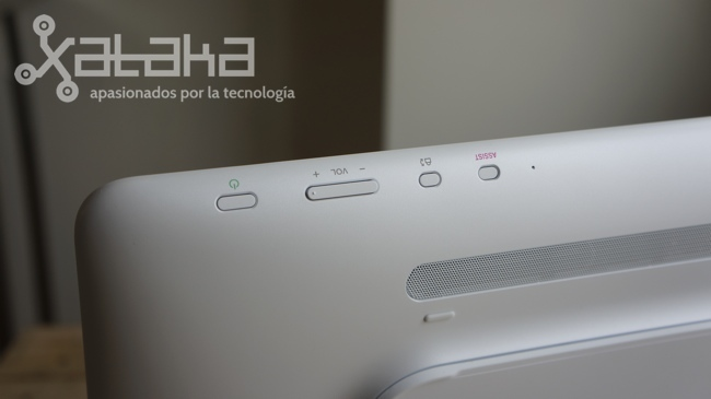 Sony Vaio Tap 20 análisis botones