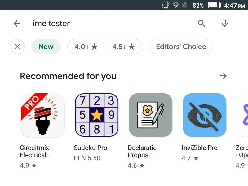 Google Play nos facultará filtrar nuestras búsquedas para revelar las mejores App y juegos