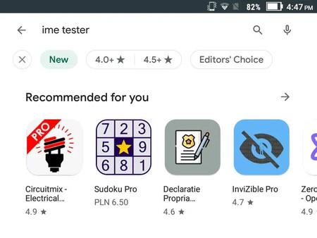Google Play nos permitirá filtrar nuestras búsquedas para encontrar las mejores aplicaciones y juegos