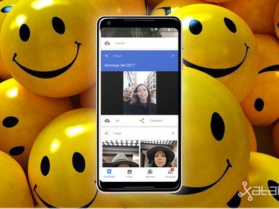 Sonrisas de 2017: cómo editar y compartir el nuevo vídeo Google Fotos desde un móvil Android