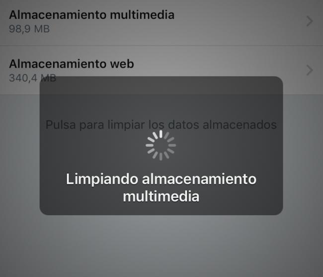 Twitter Iphone Limpiando