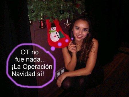 Chenoa haciendo méritos para ser Mamá Noel 2011 #estápasandoenTwitter