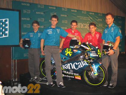 Presentación del Aspar Team de 250