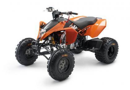 KTM XC 450/525, el quad naranja