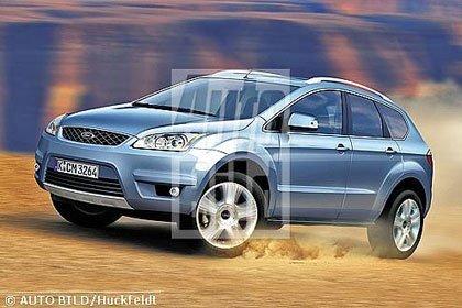 Ford Focus SUV, primeras recreaciones