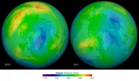 Pérdida récord de Ozono en el Ártico
